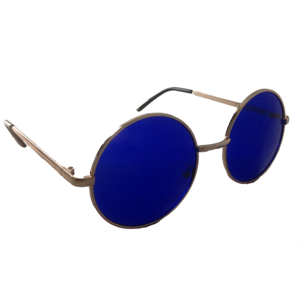Big Lennon sunglasses with blue lenses - sunlooper.co.uk - billede 2