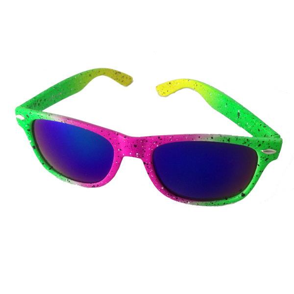 Colourful neon sunglasses