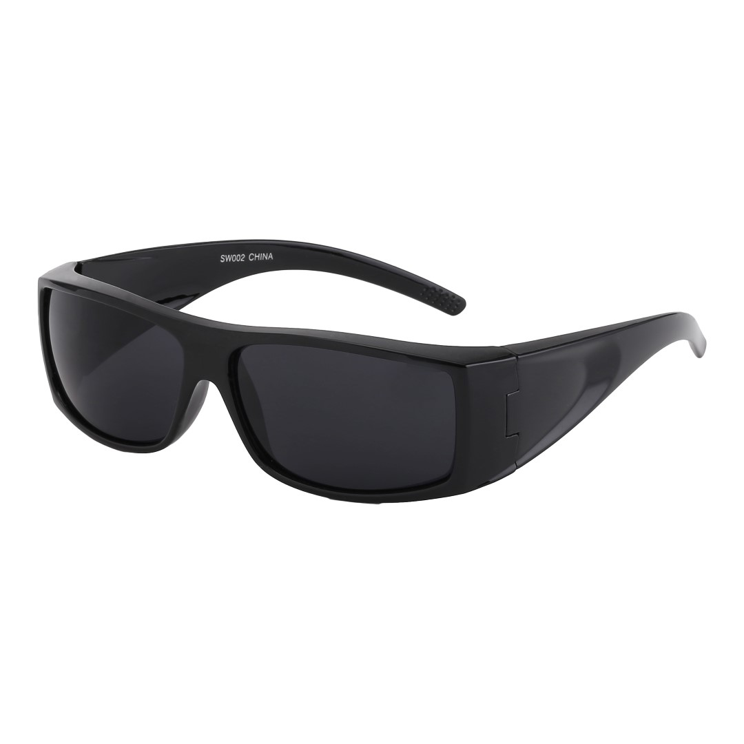 Black masculine sunglasses for men