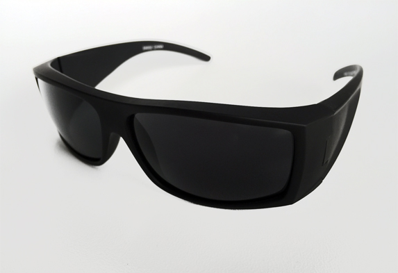 Cool matte sunglasses with raw look - sunlooper.co.uk - billede 2