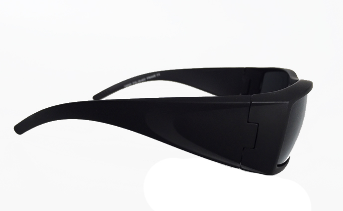 Cool matte sunglasses with raw look - sunlooper.co.uk - billede 3