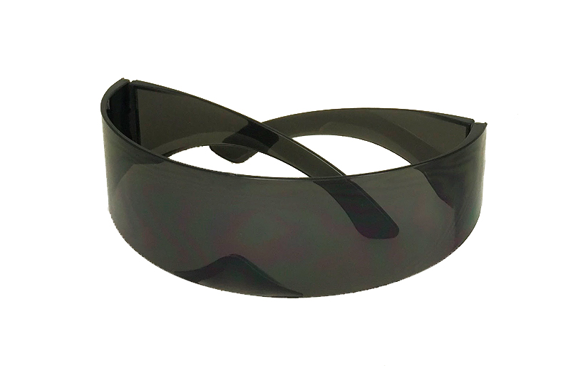 Star Trek solbrille i sort - sunlooper.co.uk - billede 2