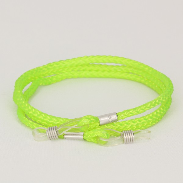Neon green glasses cord - sunlooper.co.uk - billede 2