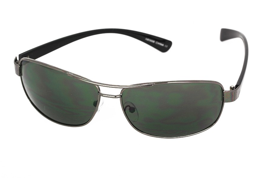 Black sunglasses in simple metal - sunlooper.co.uk - billede 2