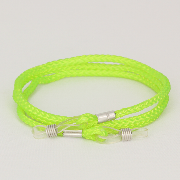 Neon green glasses cord