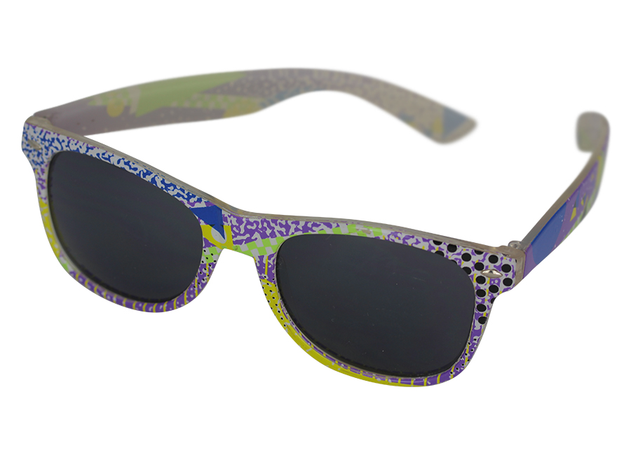 Colourful wayfarer sunglasses