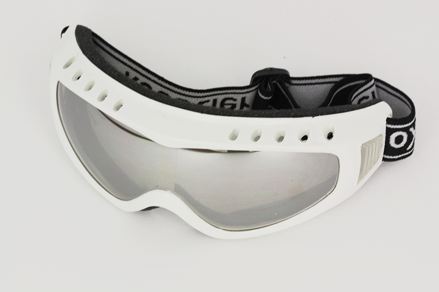 Goggles with mirror lenses, adjustable rubber strap - sunlooper.co.uk - billede 2
