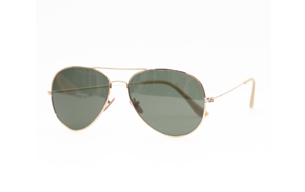 Yellow aviator/pilot sunglasses