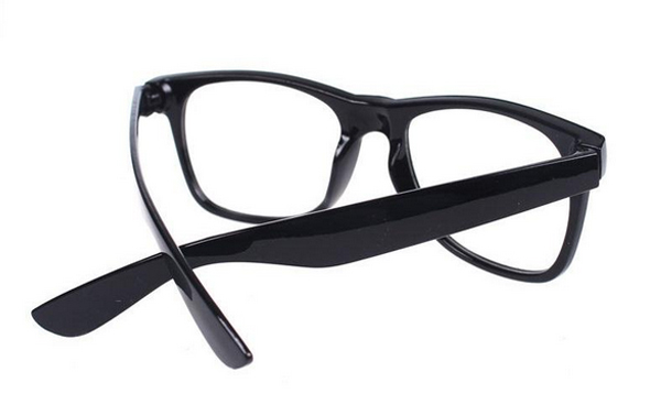 Non-prescription Wayfarers in black - sunlooper.co.uk - billede 3