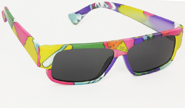 Colourful kids sunglasses with UV protection