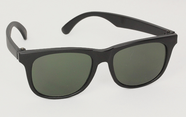 Wayfarer kids sunglasses in black