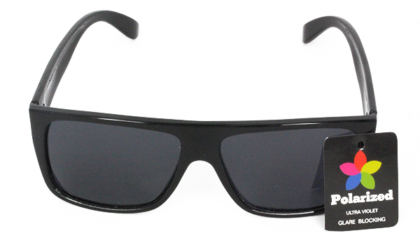 Black polaroid sunglasses