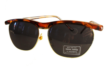 Clubmaster sunglasses in tortoiseshell brown