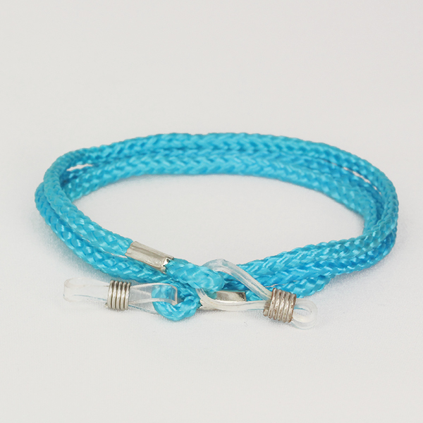 Baby blue glasses cord