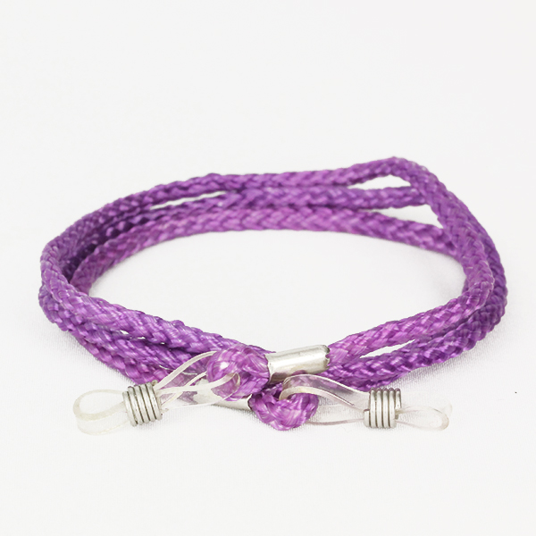 Purpe glasses rope