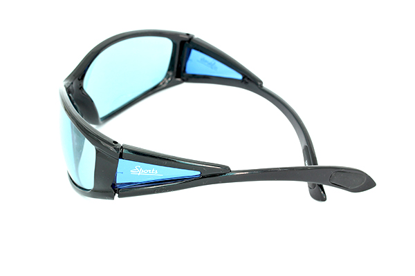 Black sports sunglasses - sunlooper.co.uk - billede 2