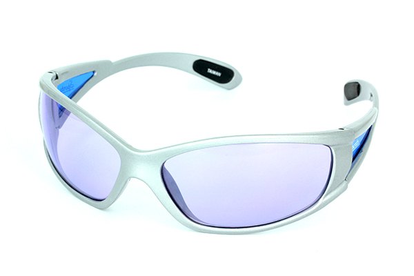 Light grey sports sunglasses