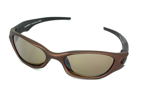 Sports sunglasses in bronze