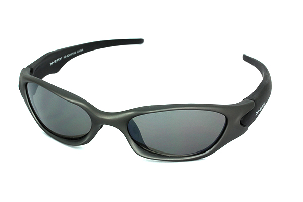 Grey sports sunglasses for men