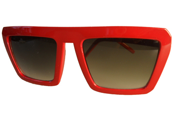 Red Cartoon sunglasses