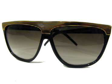Retro sunglasses with gold