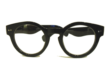 Glasses with clear lenses, non-prescription