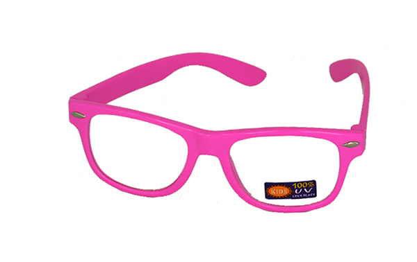 Non prescription child glasses, pink