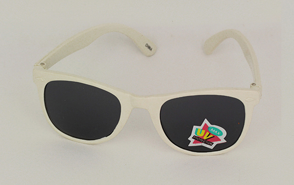 White childs sunglasses