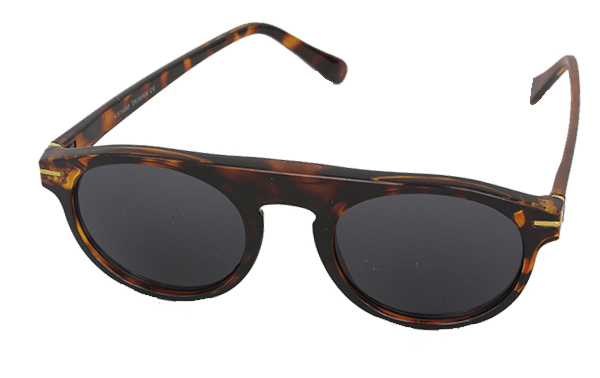 Tortoiseshell brown fashion sunglasses