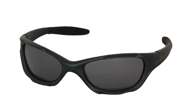 Dark blue sports sunglasses