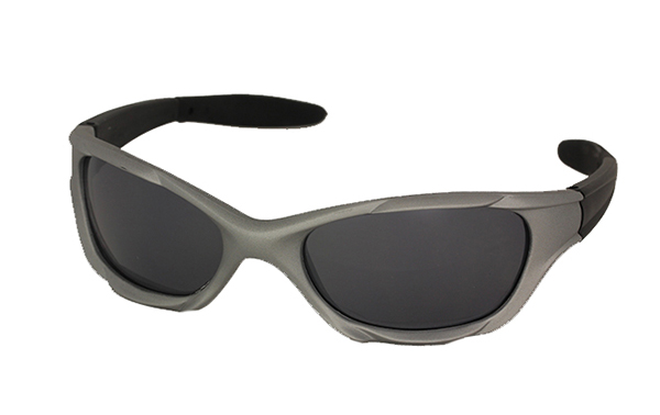 Sports sunglasses in light grey