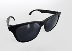 Black wayfarer sunglasses for KIDS - Design nr. 3210