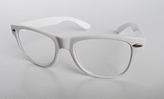 White wayfarer for kids