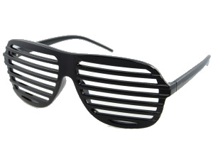 Black shutter shades - Design nr. 772