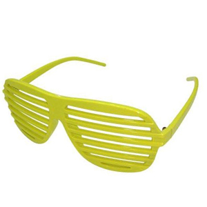 Yellow shutter shades