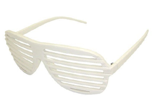 White shutter shades - Design nr. 778