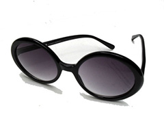 Large black round sunglasses - Design nr. 1011