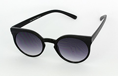 Simple round black sunglasses - Design nr. 1020