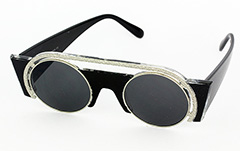 Exclusive, special sunglasses in black - Design nr. 1044