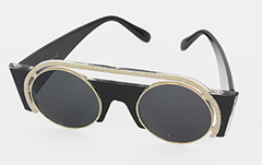 Exclusive, special sunglasses in black and gold - Design nr. 1045