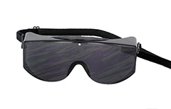 Protective sunglasses with elastic