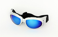 Silver driving glasses with adjustable elastic - Design nr. 1075