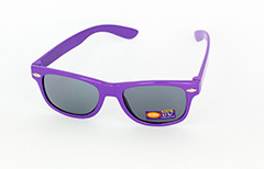 Childrens sunglasses in purple wayfarer look - Design nr. 1081