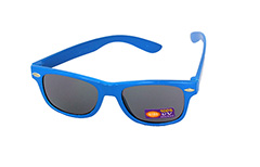 Childrens sunglasses in blue wayfarer look - Design nr. 1082
