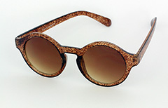 Round modern sunglasses - Design nr. 1104