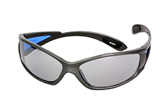 Sports sunglasses with blue arms - Design nr. 1134