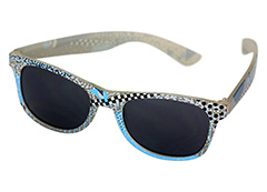 Wayfarer sunglasses in coloured unisex design - Design nr. 1145