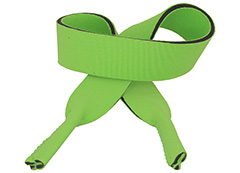 Green sunglasses cord / sports elastic