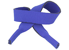 Blue sunglasses cord / sports elastic