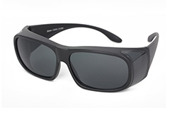 Black fit-over sunglasses